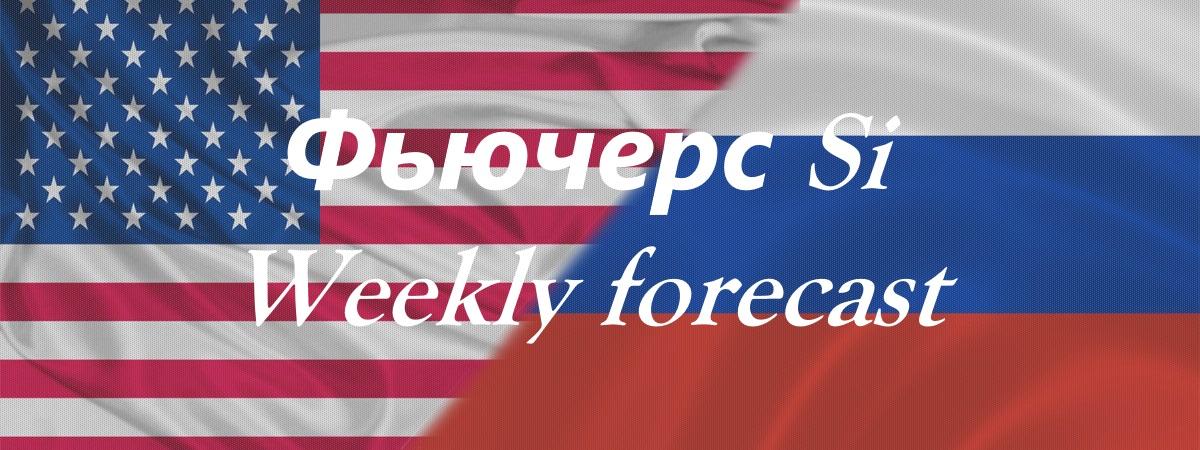 Фьючерс Si - Weekly Forecast